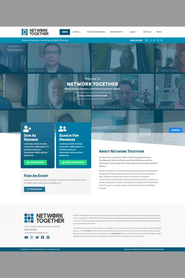 Network Together Website