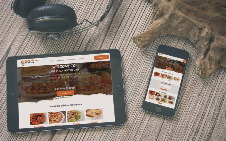 Pizza Restaurant Websites